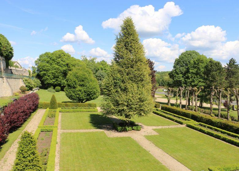 Jardin de la mairie - Copyright : Mairie de Saint-Leu-d'Esserent