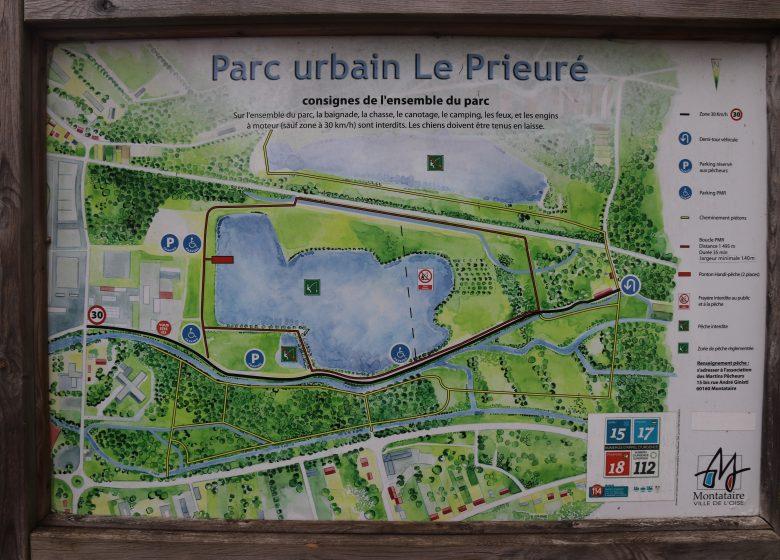 Parc urbain du prieuré - Copyright : creilsudoisetourisme