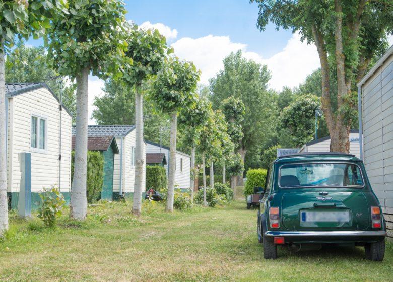 Camping de l'Abbatiale - Copyright : Bertrand Orsal