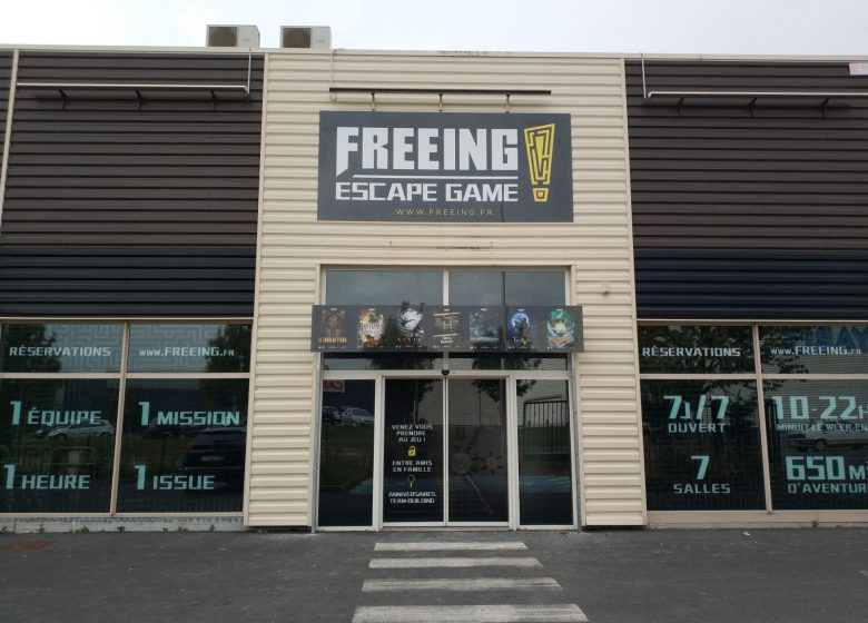 Freeing Escape Game - Copyright : Freeing Escape Game